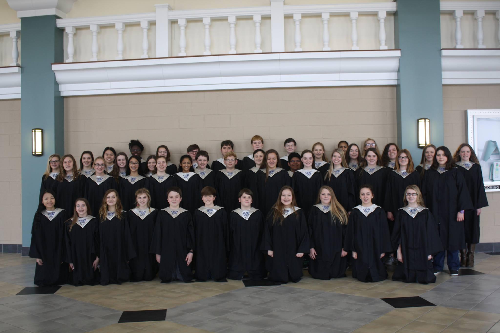 South Warren Middle School Mixed Choir